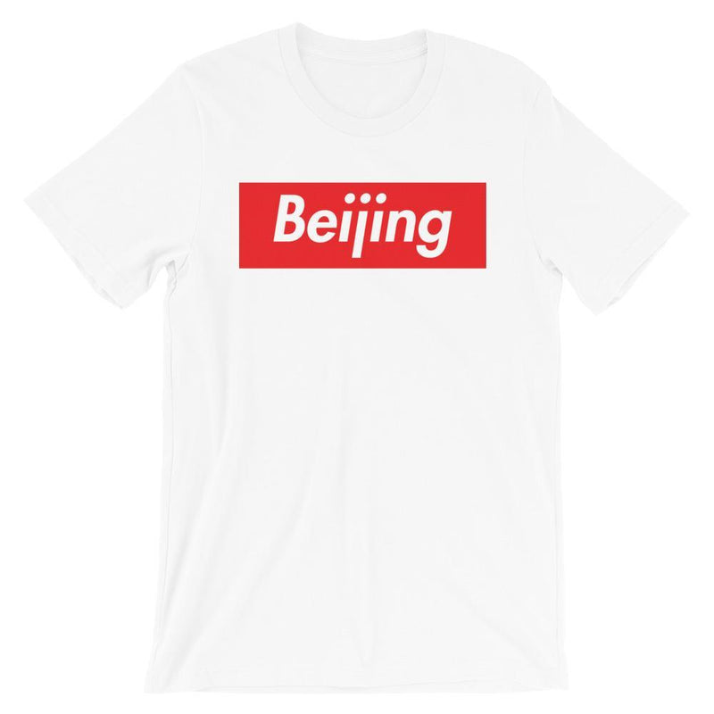 Repparel Beijing White / XS Hypebeast Streetwear Eco-Friendly Full Cotton T-Shirt