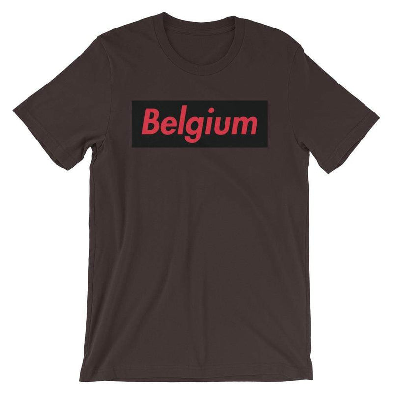 Repparel Belguim Brown / S Hypebeast Streetwear Eco-Friendly Full Cotton T-Shirt