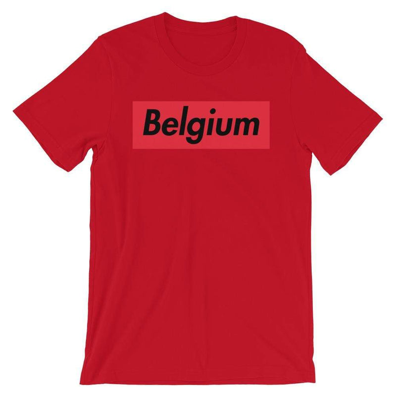 Repparel Belguim Red / S Hypebeast Streetwear Eco-Friendly Full Cotton T-Shirt