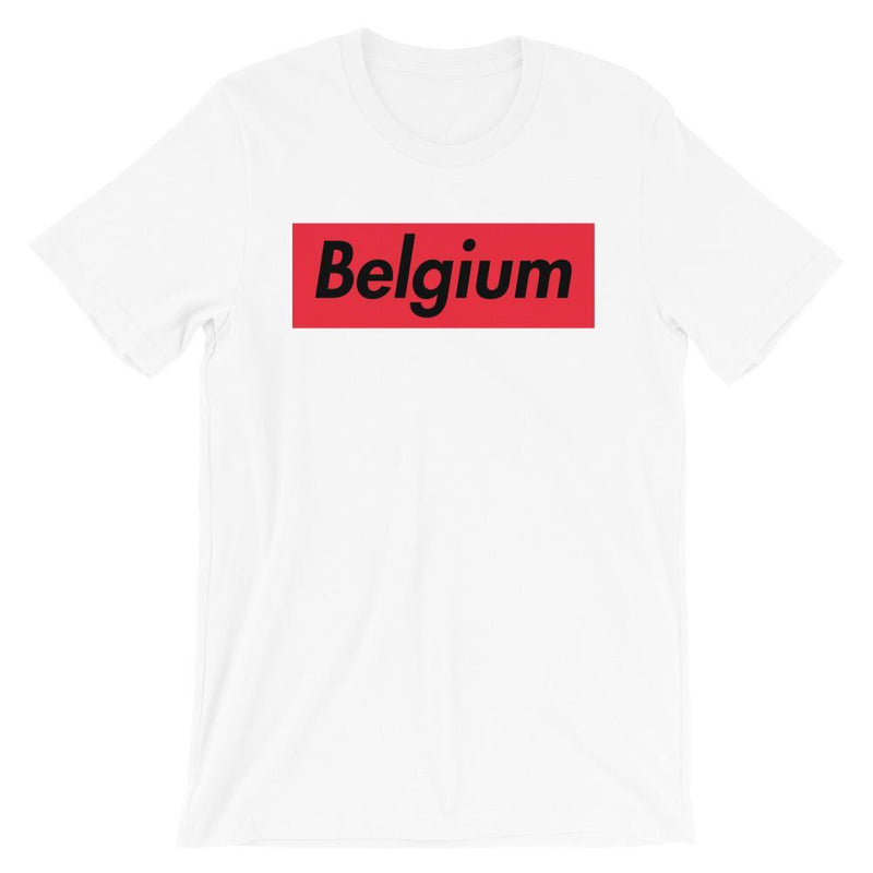 Repparel Belguim White / XS Hypebeast Streetwear Eco-Friendly Full Cotton T-Shirt