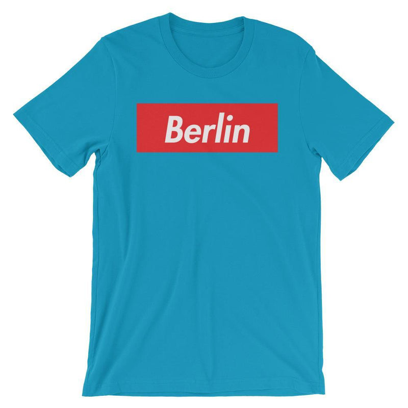 Repparel Berlin Aqua / S Hypebeast Streetwear Eco-Friendly Full Cotton T-Shirt