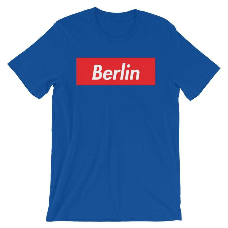 Repparel Berlin True Royal / S Hypebeast Streetwear Eco-Friendly Full Cotton T-Shirt