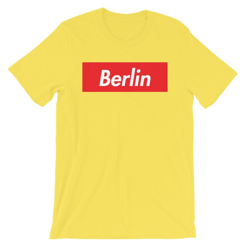 Repparel Berlin Yellow / S Hypebeast Streetwear Eco-Friendly Full Cotton T-Shirt