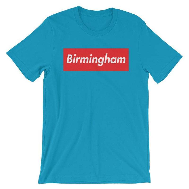 Repparel Birmingham Aqua / S Hypebeast Streetwear Eco-Friendly Full Cotton T-Shirt