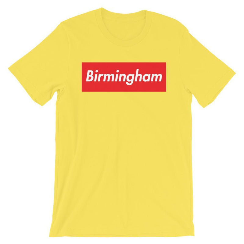 Repparel Birmingham Yellow / S Hypebeast Streetwear Eco-Friendly Full Cotton T-Shirt