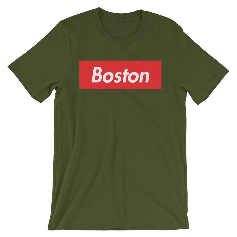 Repparel Boston Olive / S Hypebeast Streetwear Eco-Friendly Full Cotton T-Shirt