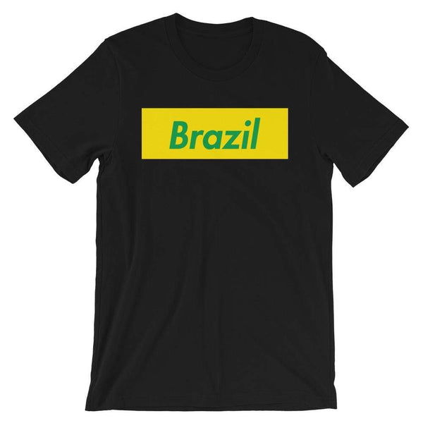 Repparel Brazil Black / XS Hypebeast Streetwear Eco-Friendly Full Cotton T-Shirt