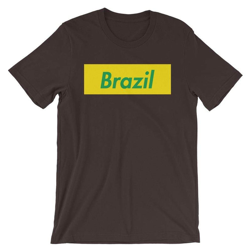 Repparel Brazil Brown / S Hypebeast Streetwear Eco-Friendly Full Cotton T-Shirt