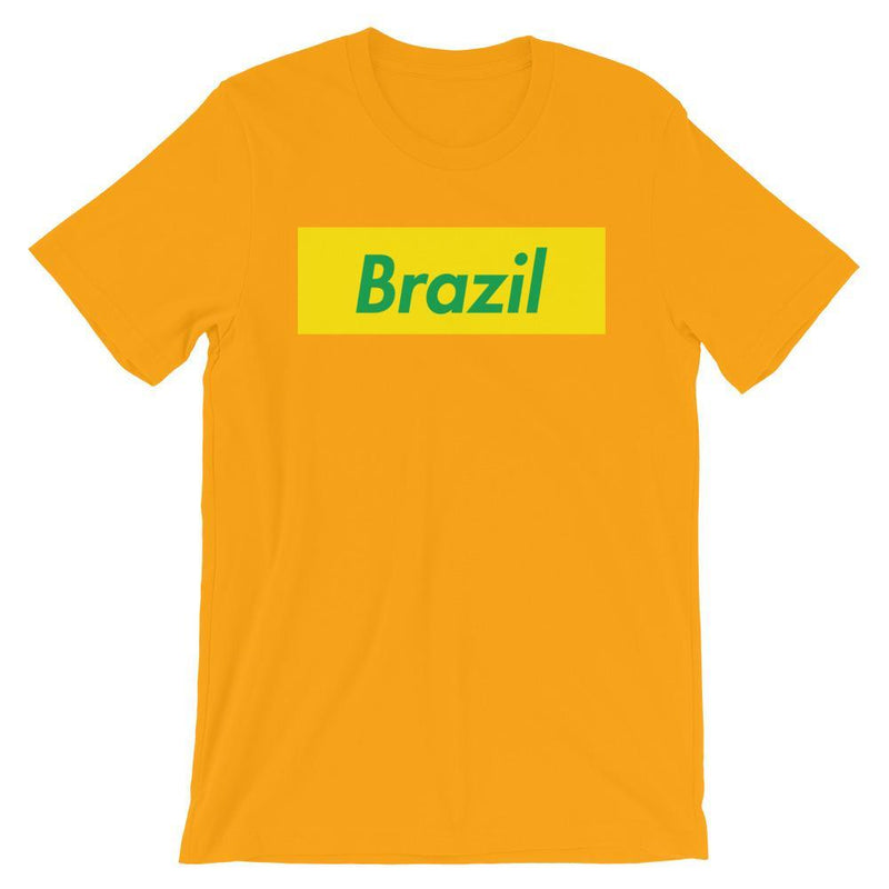 Repparel Brazil Gold / S Hypebeast Streetwear Eco-Friendly Full Cotton T-Shirt
