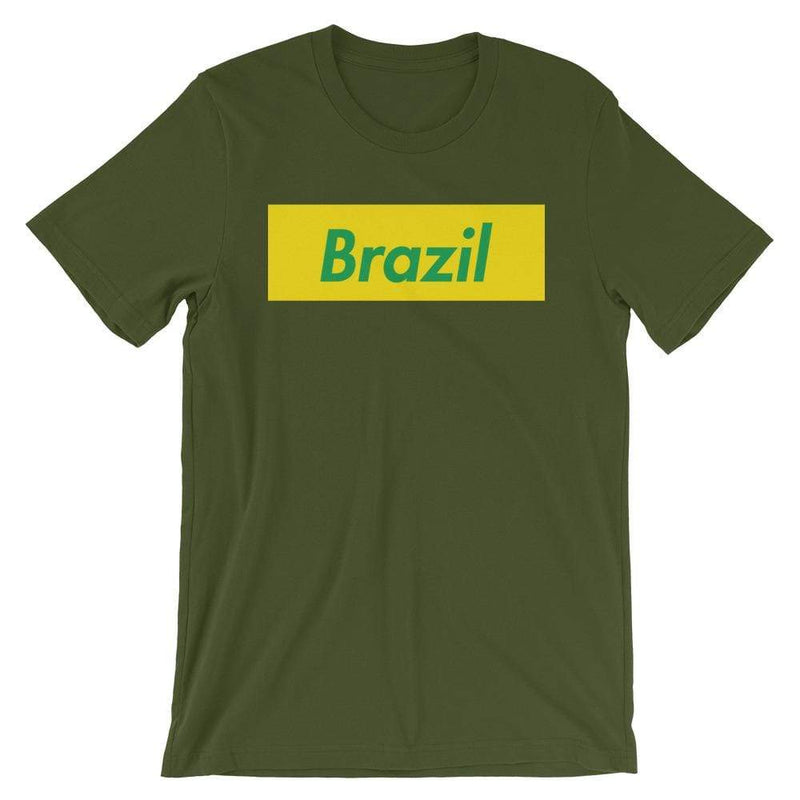 Repparel Brazil Olive / S Hypebeast Streetwear Eco-Friendly Full Cotton T-Shirt