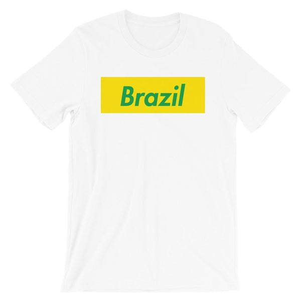 Repparel Brazil White / XS Hypebeast Streetwear Eco-Friendly Full Cotton T-Shirt