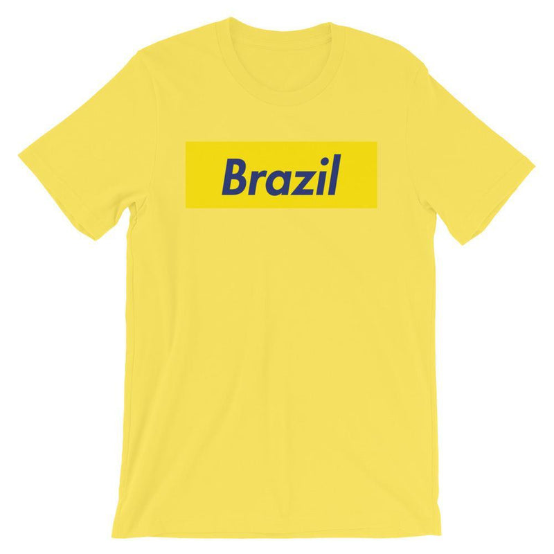 Repparel Brazil Yellow / S Hypebeast Streetwear Eco-Friendly Full Cotton T-Shirt