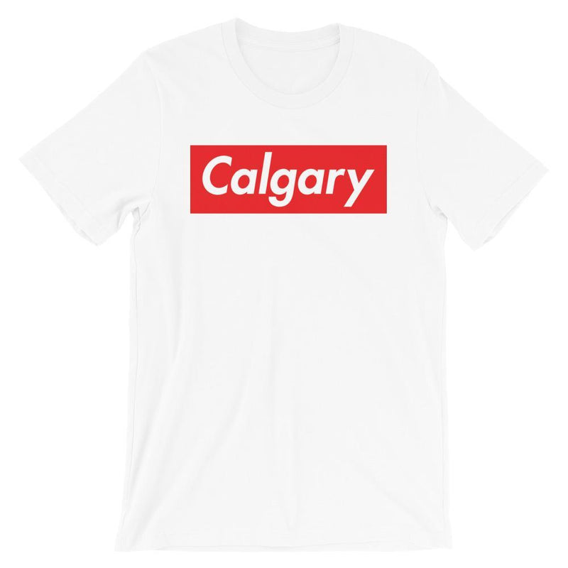 Repparel Calgary White / XS Hypebeast Streetwear Eco-Friendly Full Cotton T-Shirt