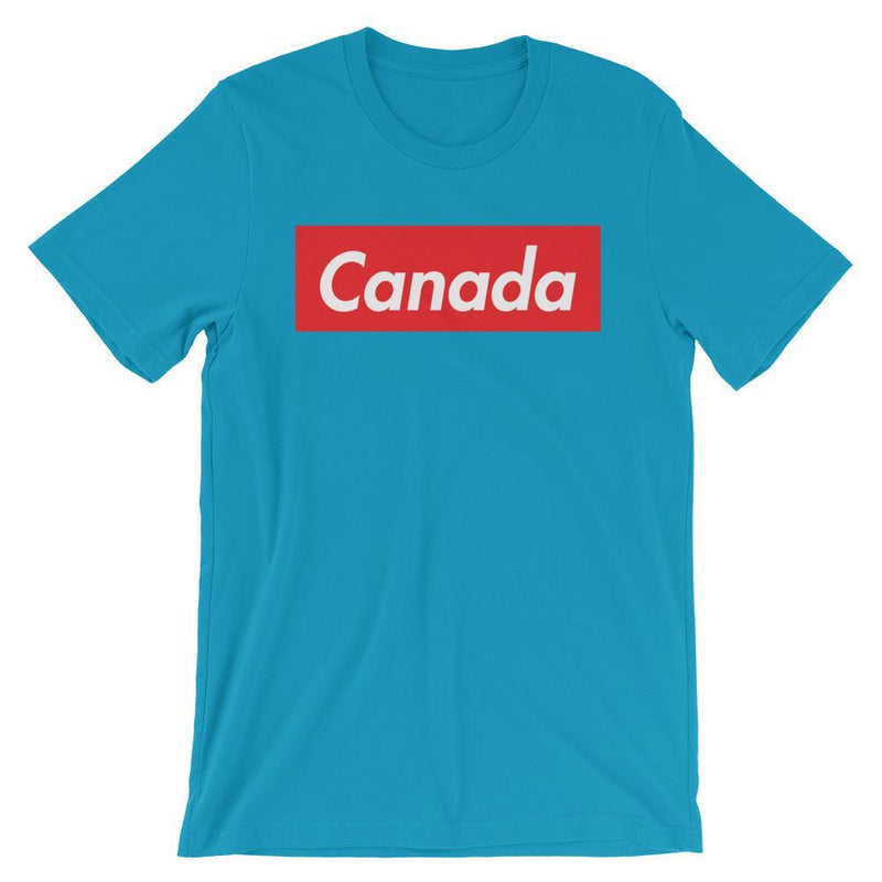 Repparel Canada Aqua / S Hypebeast Streetwear Eco-Friendly Full Cotton T-Shirt