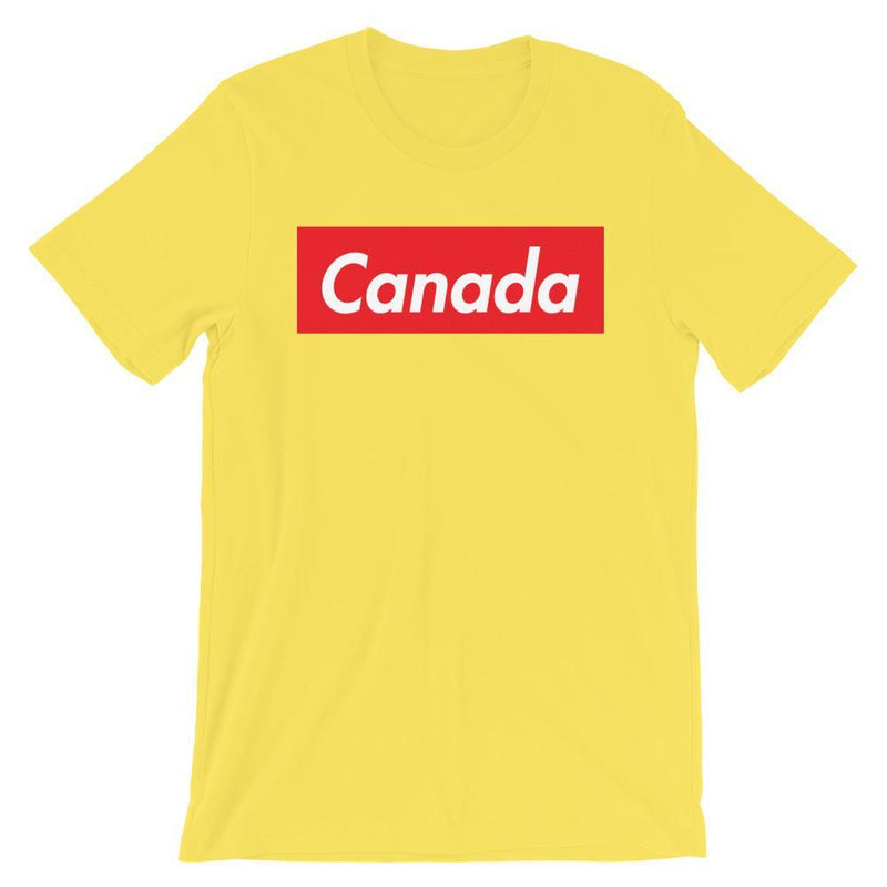 Repparel Canada Yellow / S Hypebeast Streetwear Eco-Friendly Full Cotton T-Shirt