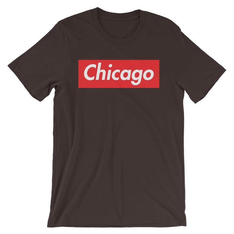 Repparel Chicago Brown / S Hypebeast Streetwear Eco-Friendly Full Cotton T-Shirt