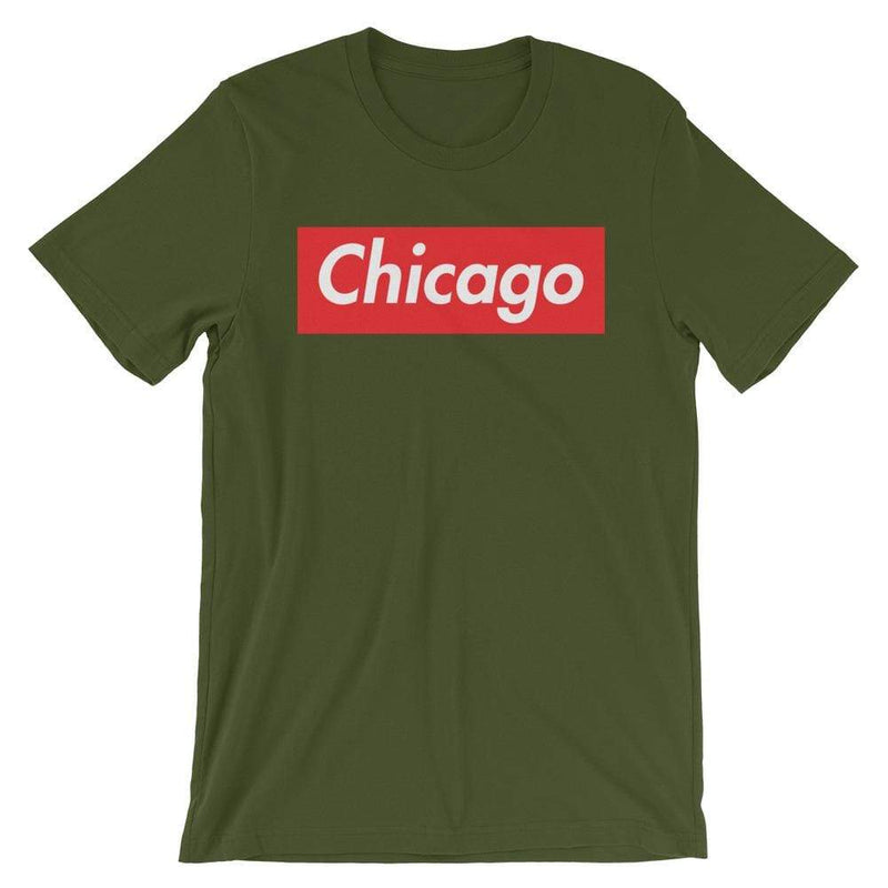 Repparel Chicago Olive / S Hypebeast Streetwear Eco-Friendly Full Cotton T-Shirt