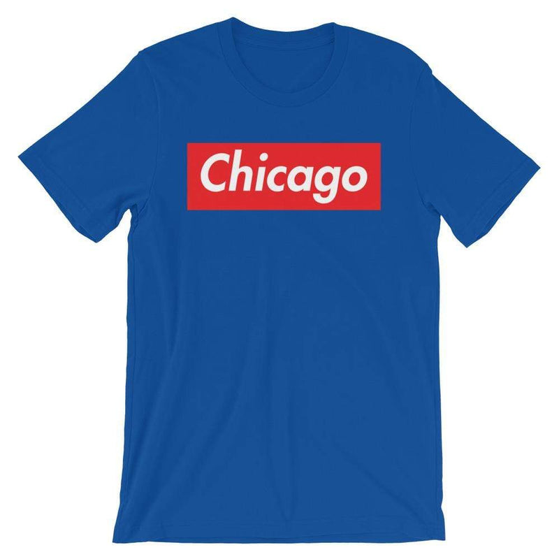 Repparel Chicago True Royal / S Hypebeast Streetwear Eco-Friendly Full Cotton T-Shirt