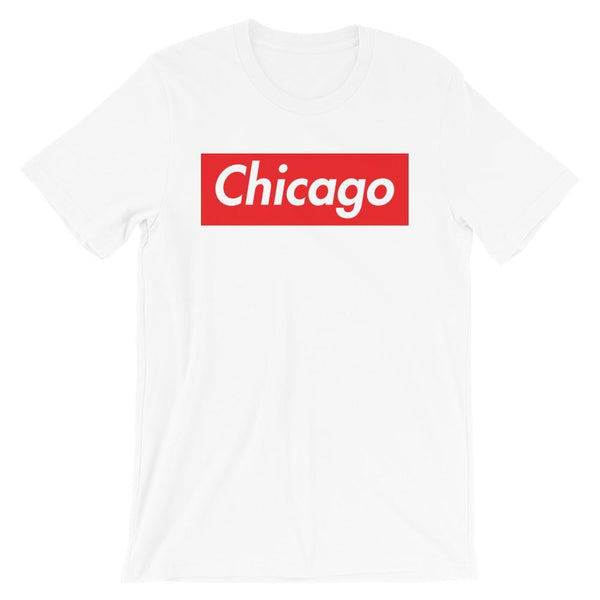 Repparel Chicago White / XS Hypebeast Streetwear Eco-Friendly Full Cotton T-Shirt