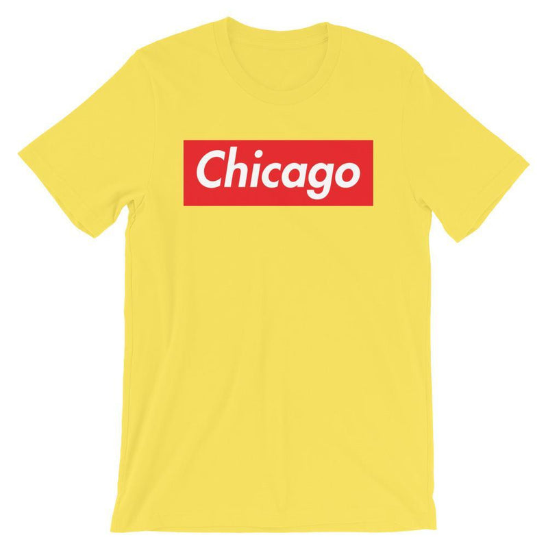 Repparel Chicago Yellow / S Hypebeast Streetwear Eco-Friendly Full Cotton T-Shirt