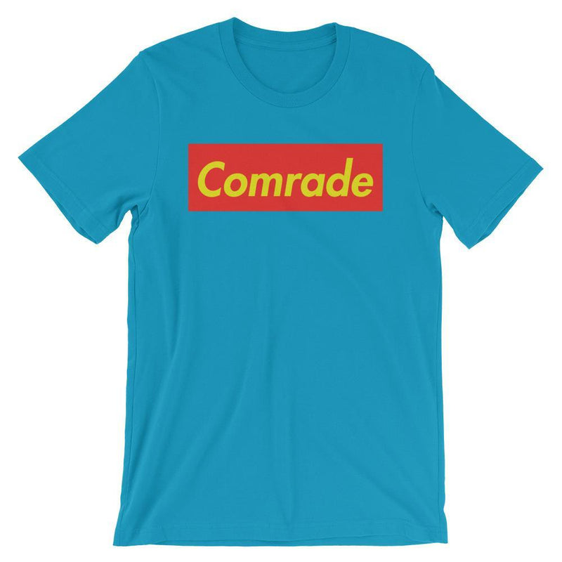 Repparel Comrade Aqua / S Hypebeast Streetwear Eco-Friendly Full Cotton T-Shirt
