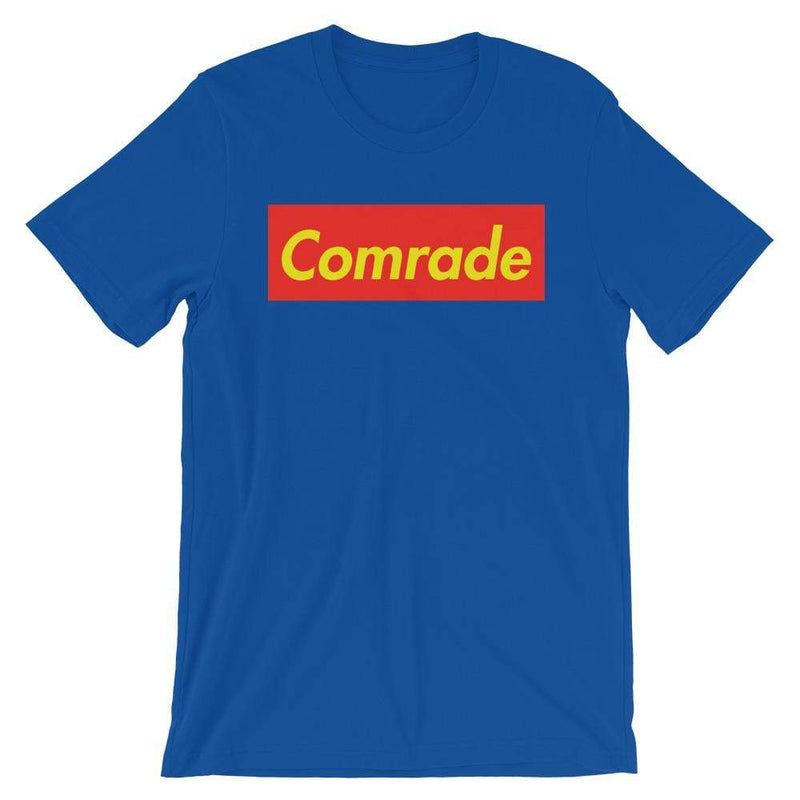 Repparel Comrade True Royal / S Hypebeast Streetwear Eco-Friendly Full Cotton T-Shirt