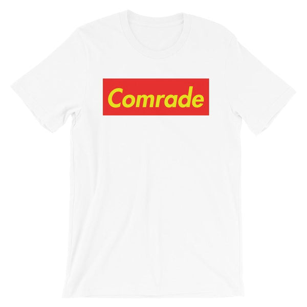 Repparel Comrade White / XS Hypebeast Streetwear Eco-Friendly Full Cotton T-Shirt