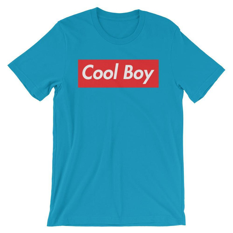 Repparel Cool Boy Aqua / S Hypebeast Streetwear Eco-Friendly Full Cotton T-Shirt
