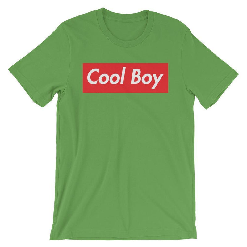 Repparel Cool Boy Leaf / S Hypebeast Streetwear Eco-Friendly Full Cotton T-Shirt