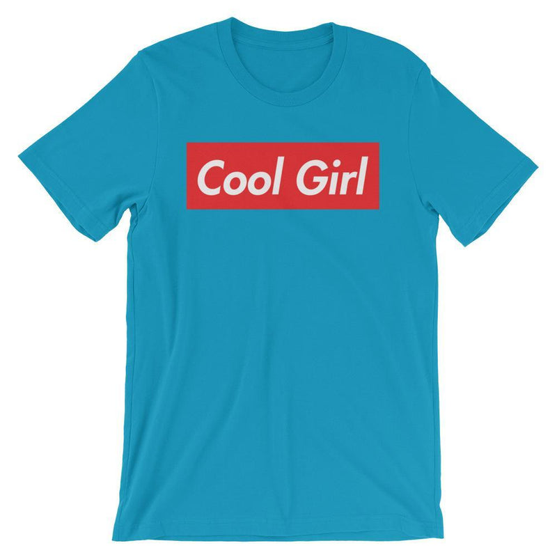 Repparel Cool Girl Aqua / S Hypebeast Streetwear Eco-Friendly Full Cotton T-Shirt