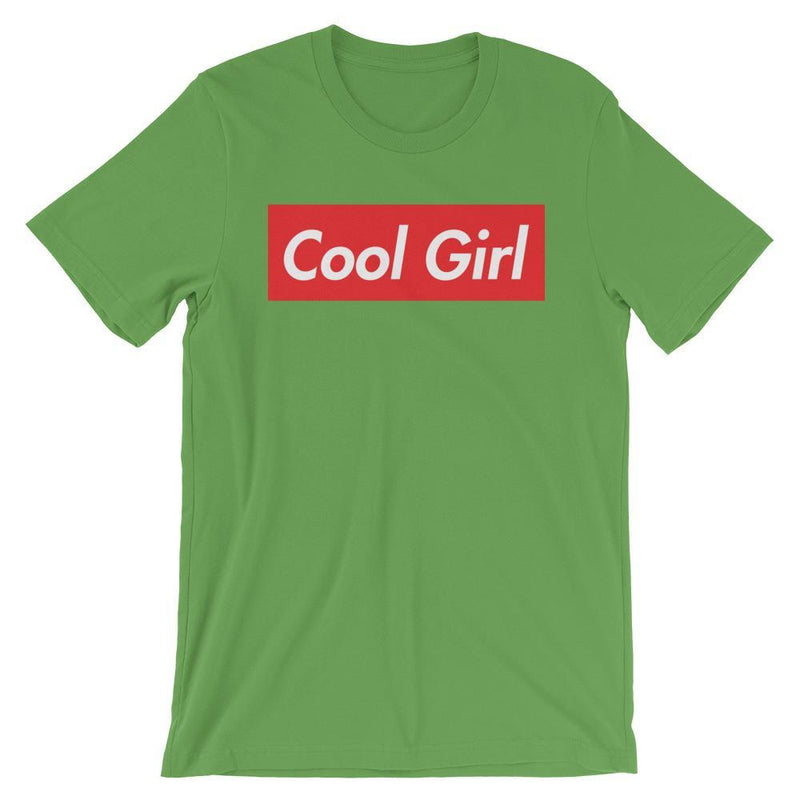 Repparel Cool Girl Leaf / S Hypebeast Streetwear Eco-Friendly Full Cotton T-Shirt