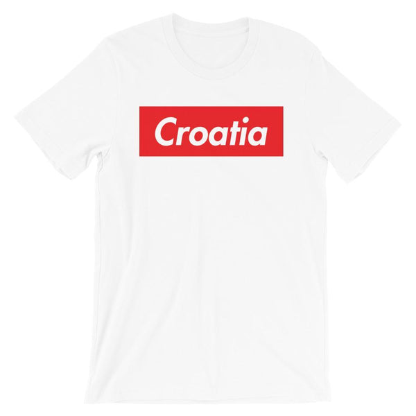 Repparel Croatia White / XS Hypebeast Streetwear Eco-Friendly Full Cotton T-Shirt