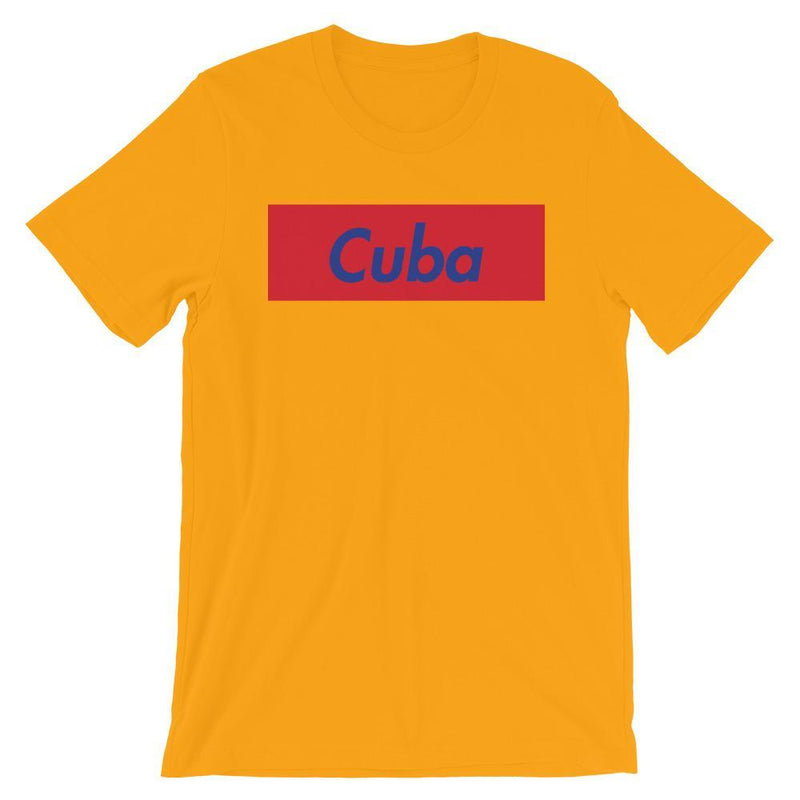 Repparel Cuba Gold / S Hypebeast Streetwear Eco-Friendly Full Cotton T-Shirt