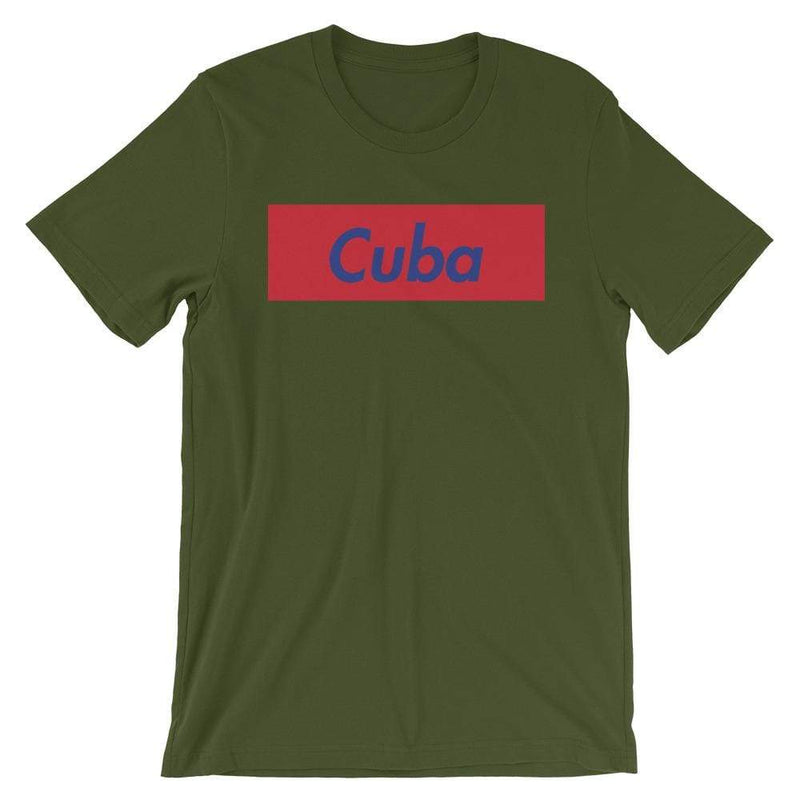 Repparel Cuba Olive / S Hypebeast Streetwear Eco-Friendly Full Cotton T-Shirt