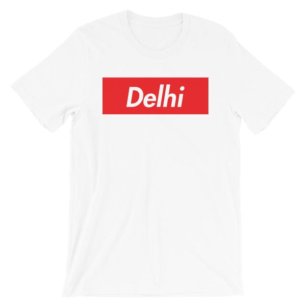 Repparel Delhi White / XS Hypebeast Streetwear Eco-Friendly Full Cotton T-Shirt