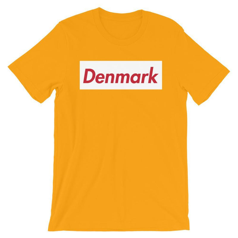 Repparel Denmark Gold / S Hypebeast Streetwear Eco-Friendly Full Cotton T-Shirt