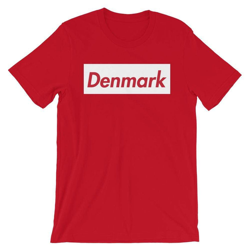 Repparel Denmark Red / S Hypebeast Streetwear Eco-Friendly Full Cotton T-Shirt