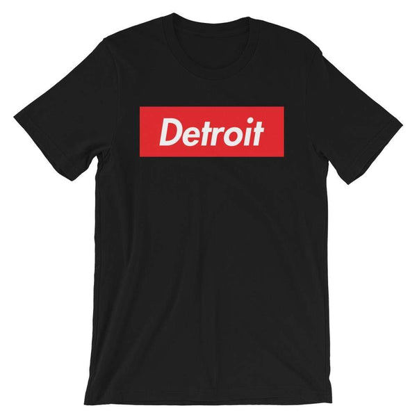 Repparel Detroit Black / XS Hypebeast Streetwear Eco-Friendly Full Cotton T-Shirt
