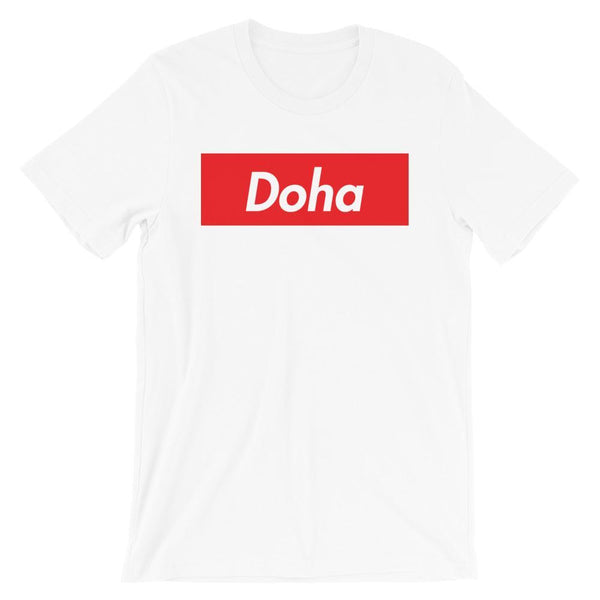 Repparel Doha White / XS Hypebeast Streetwear Eco-Friendly Full Cotton T-Shirt