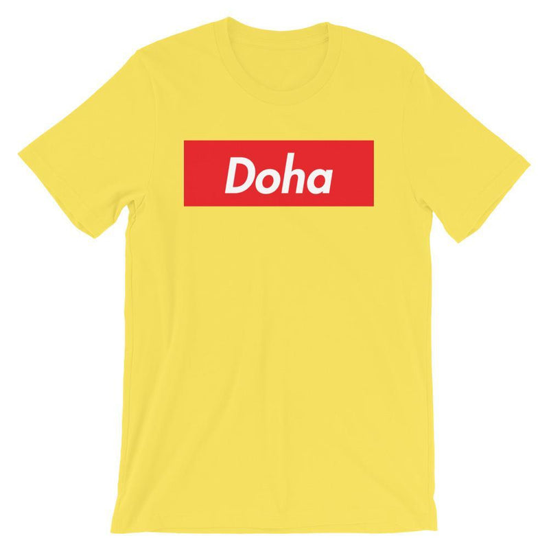 Repparel Doha Yellow / S Hypebeast Streetwear Eco-Friendly Full Cotton T-Shirt