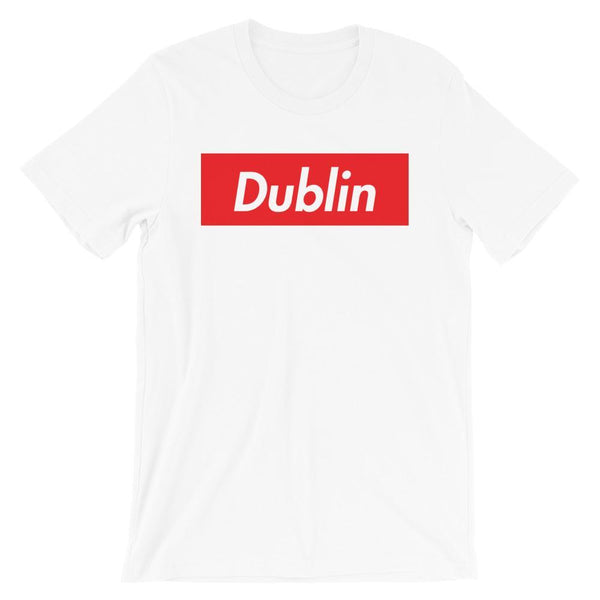 Repparel Dublin White / XS Hypebeast Streetwear Eco-Friendly Full Cotton T-Shirt