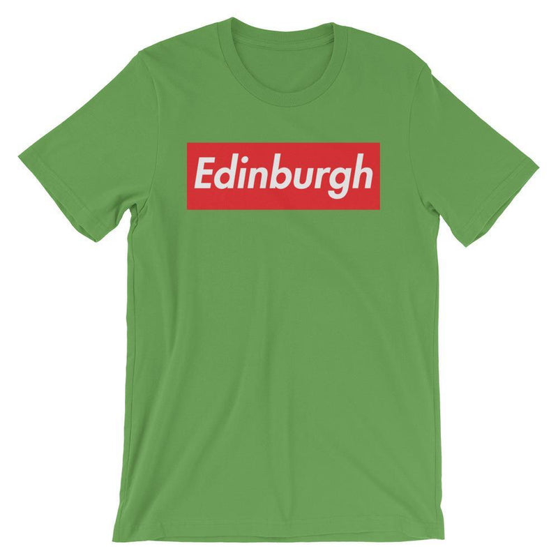 Repparel Edinburgh Leaf / S Hypebeast Streetwear Eco-Friendly Full Cotton T-Shirt