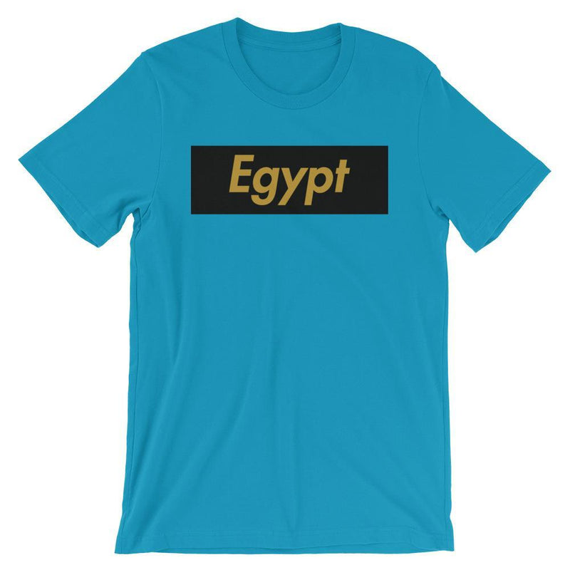 Repparel Egypt Aqua / S Hypebeast Streetwear Eco-Friendly Full Cotton T-Shirt