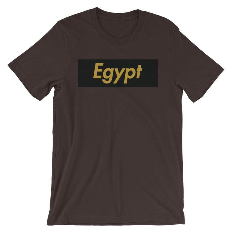 Repparel Egypt Brown / S Hypebeast Streetwear Eco-Friendly Full Cotton T-Shirt