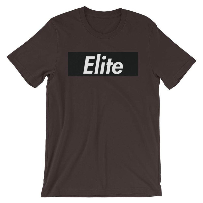 Repparel Elite Brown / S Hypebeast Streetwear Eco-Friendly Full Cotton T-Shirt