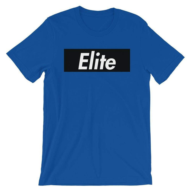 Repparel Elite True Royal / S Hypebeast Streetwear Eco-Friendly Full Cotton T-Shirt