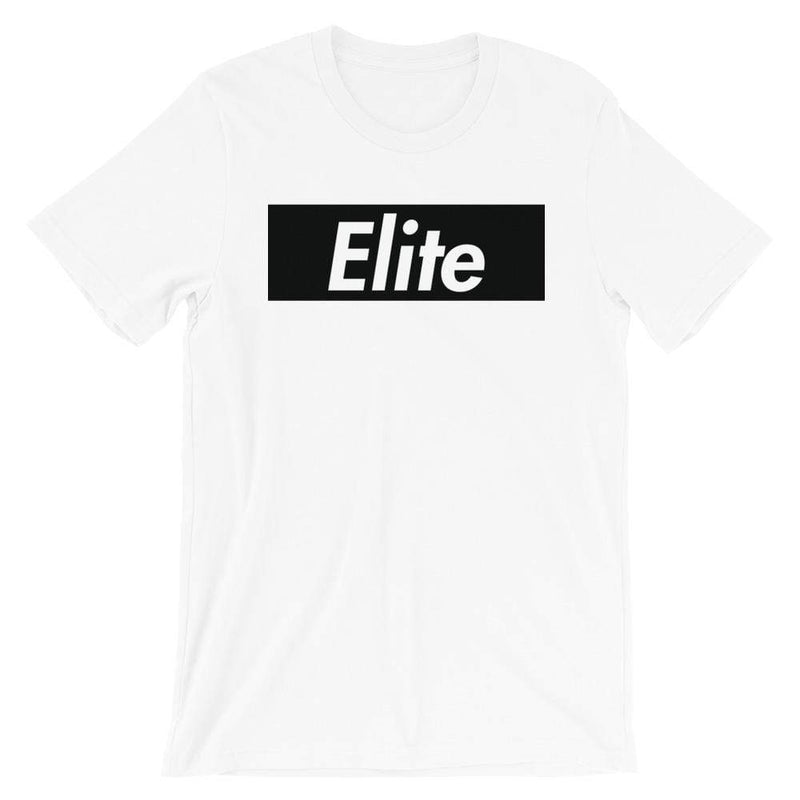 Repparel Elite White / XS Hypebeast Streetwear Eco-Friendly Full Cotton T-Shirt