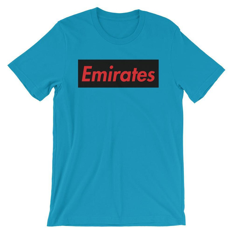 Repparel Emirates Aqua / S Hypebeast Streetwear Eco-Friendly Full Cotton T-Shirt