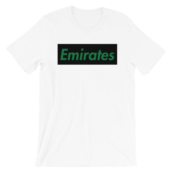 Repparel Emirates White / XS Hypebeast Streetwear Eco-Friendly Full Cotton T-Shirt