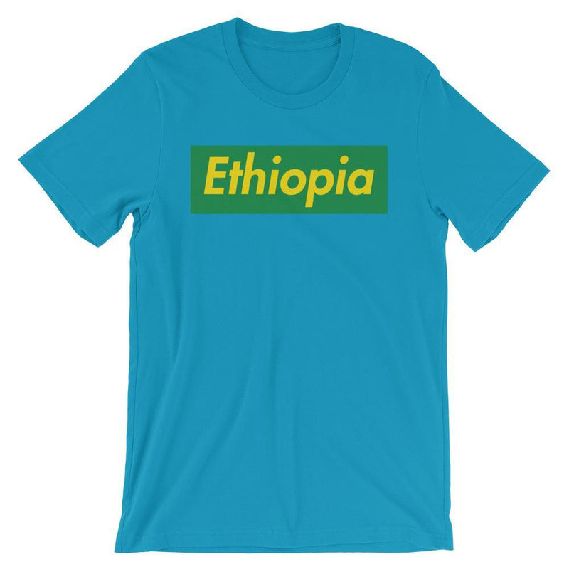 Repparel Ethiopia Aqua / S Hypebeast Streetwear Eco-Friendly Full Cotton T-Shirt